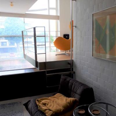 Verbouwing van gezellige woning