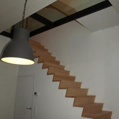 verbouwing tot één ruime woning