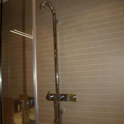 Badkamer in beperkte ruimte