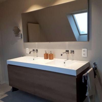 Badkamer renovatie.