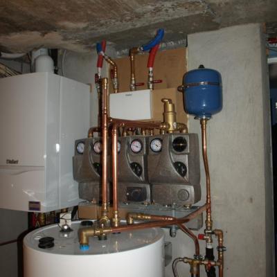 Vloerverwarming met droogsysteem